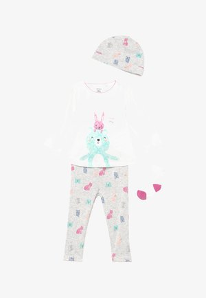 BEAR BABY SET - Berretto - heather