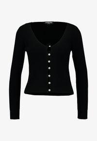 Fashion Union Petite - BEGONIA - Chaqueta de punto - black - 3