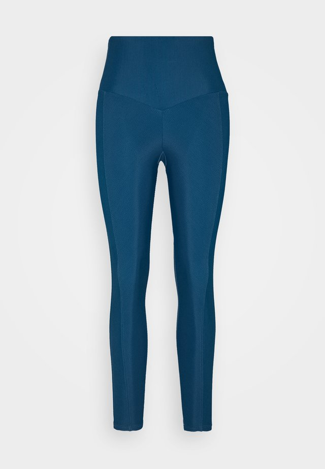 SWEETHEART MIDI - Leggings - dark blue