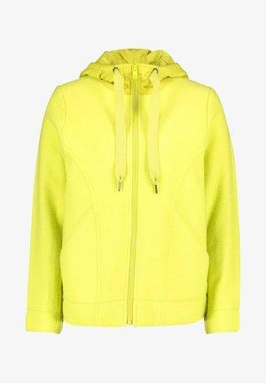 Zip-up hoodie - limeade