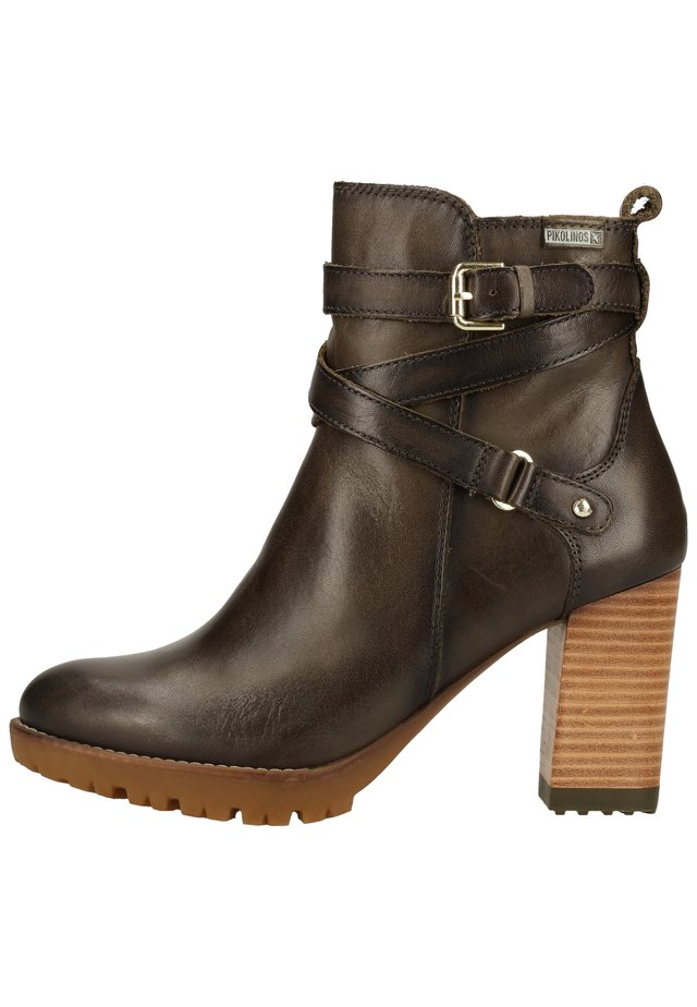 Bottines à plateau - seamoss