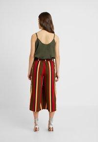 Noisy May Petite - NMGAIA CULOTTE PANTS - Trousers - kalamata - 2
