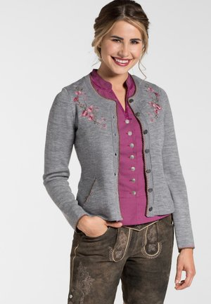 MELONE - Cardigan - light gray