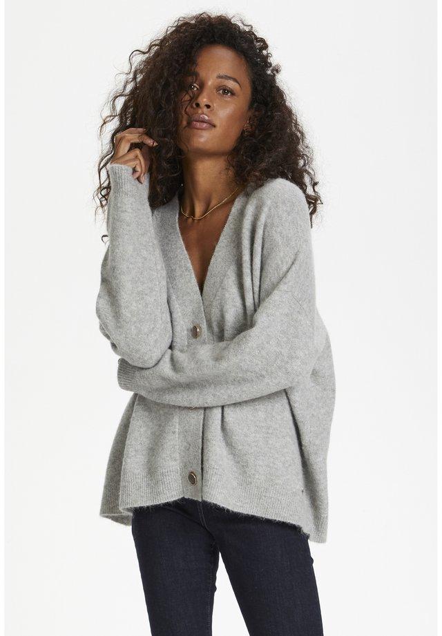NORA - Vest - frost gray melange