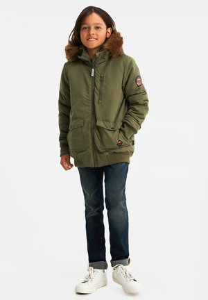 Winter jacket - army green