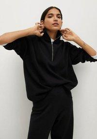 Mango - CLAU - Trousers - zwart - 3