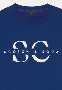 Scotch & Soda - LOGO - T-shirt z nadrukiem - yinmin blue - 2