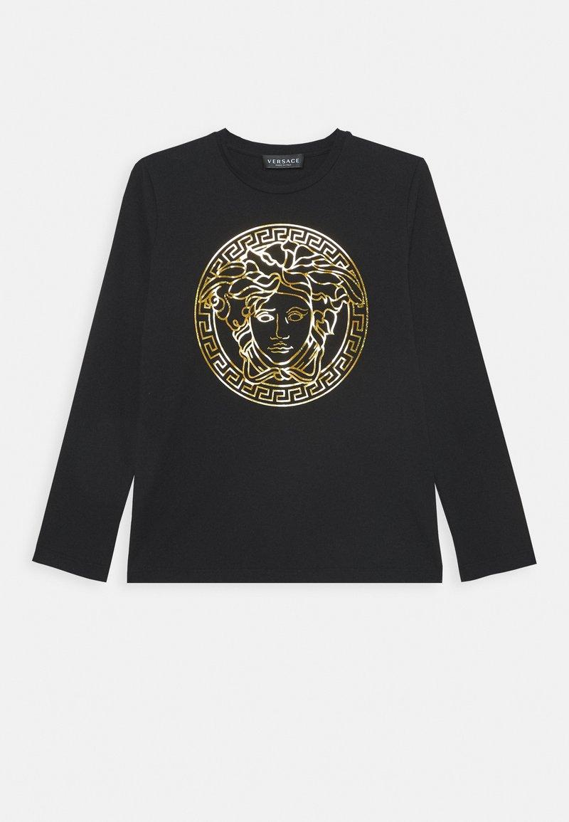 Versace - MAGLIETTA MANICA LUNGA - Top sdlouhým rukávem - nero/oro