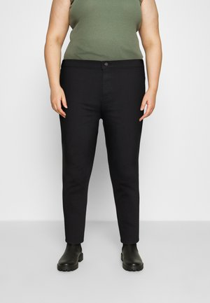 JEGGING - Skinny džíny - black denim