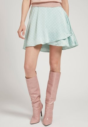 A-line skirt - himmelblau