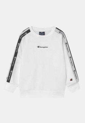 AMERICAN TAPE CREWNECK UNISEX - Sweatshirt - white