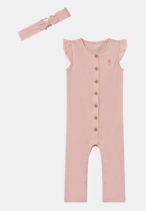 SET - Jumpsuit - pink