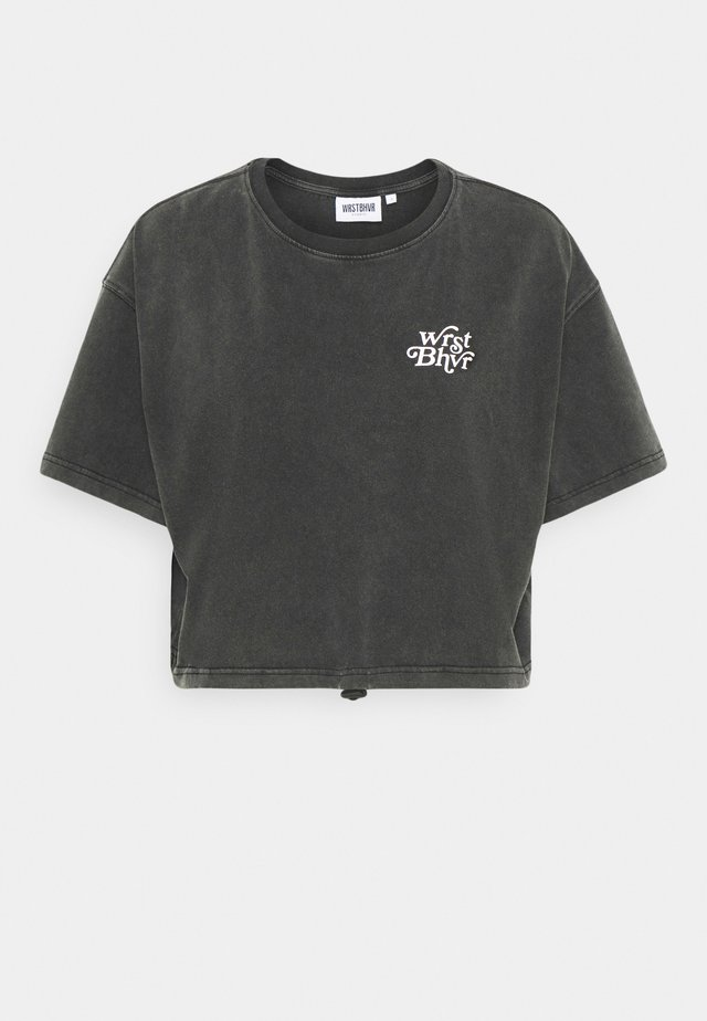 ZIA VINTAGE WOMEN - T-shirt imprimé - vintage black