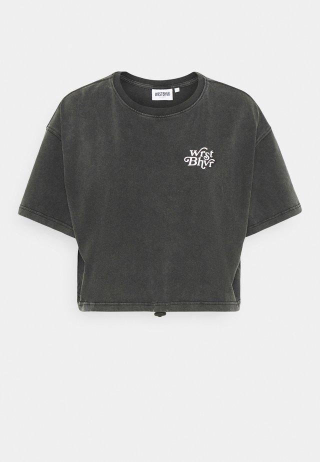 ZIA VINTAGE WOMEN - Print T-shirt - vintage black