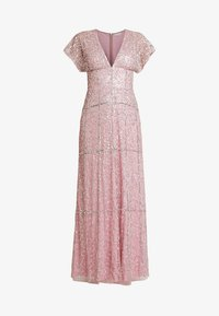 Maya Deluxe - EMBELLISHED V NECK MAXI DRESS - Abito da sera - pink - 5