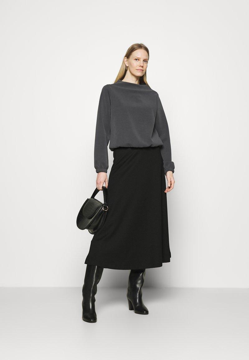 Opus - GABBI - Long sleeved top - black