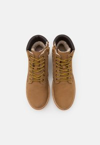 Friboo - Lace-up ankle boots - camel - 3
