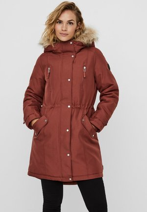 Winter coat - mahogany