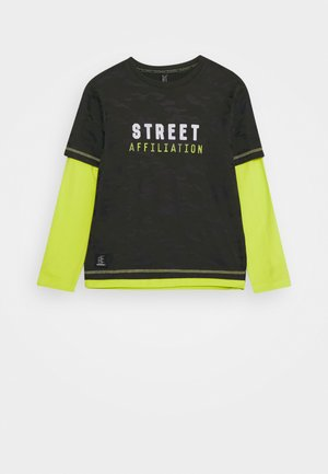BOYS LONGSLEEVE DOUBLE LOOK STREET - Long sleeved top - army green