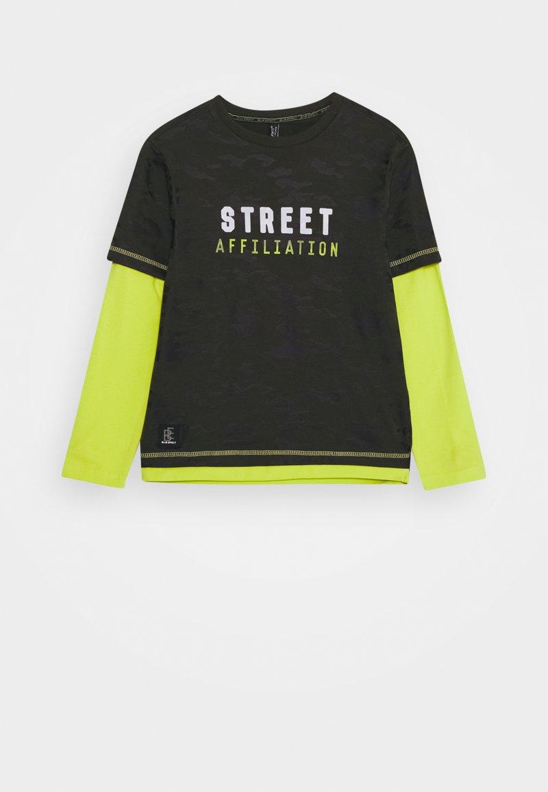 Blue Effect - BOYS LONGSLEEVE DOUBLE LOOK STREET - Long sleeved top - army green