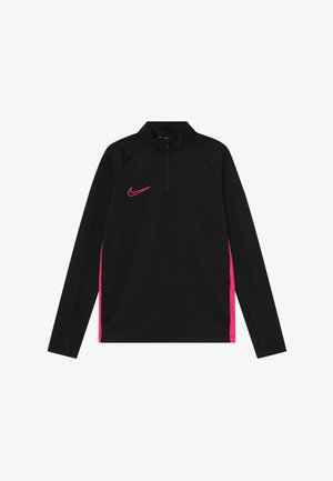 DRY ACADEMY DRIL - Sports shirt - black/hyper pink