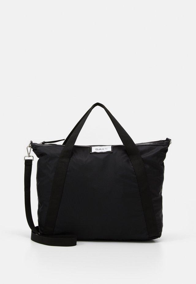GWENETH CROSS - Shoppingveske - black