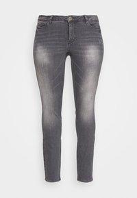 JUNAROSE - by VERO MODA - JRFIVEALLICA - Slim fit jeans - medium grey denim - 4