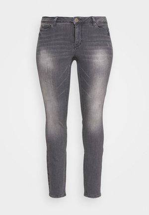 JRFIVEALLICA - Slim fit jeans - medium grey denim