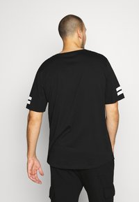 Jack & Jones - JCOBORO TEE CREW NECK - T-shirt print - black - 2