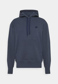 Nike Sportswear - HOODIE CLASSIC - Sweatshirt - thunder blue/midnight navy - 0