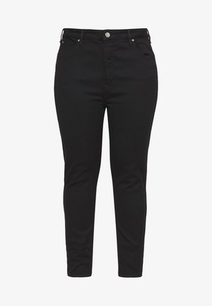SUPER HIGH SCARLETT - Skinny-Farkut - black