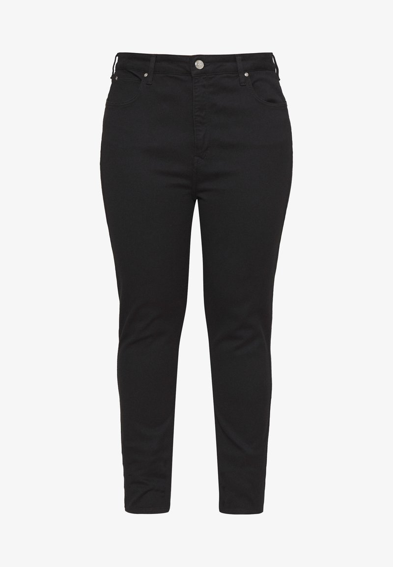 Lee Plus - SUPER HIGH SCARLETT - Jeans Skinny Fit - black