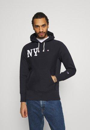 HOODED NEW YORK - Sweatshirt - dark blue