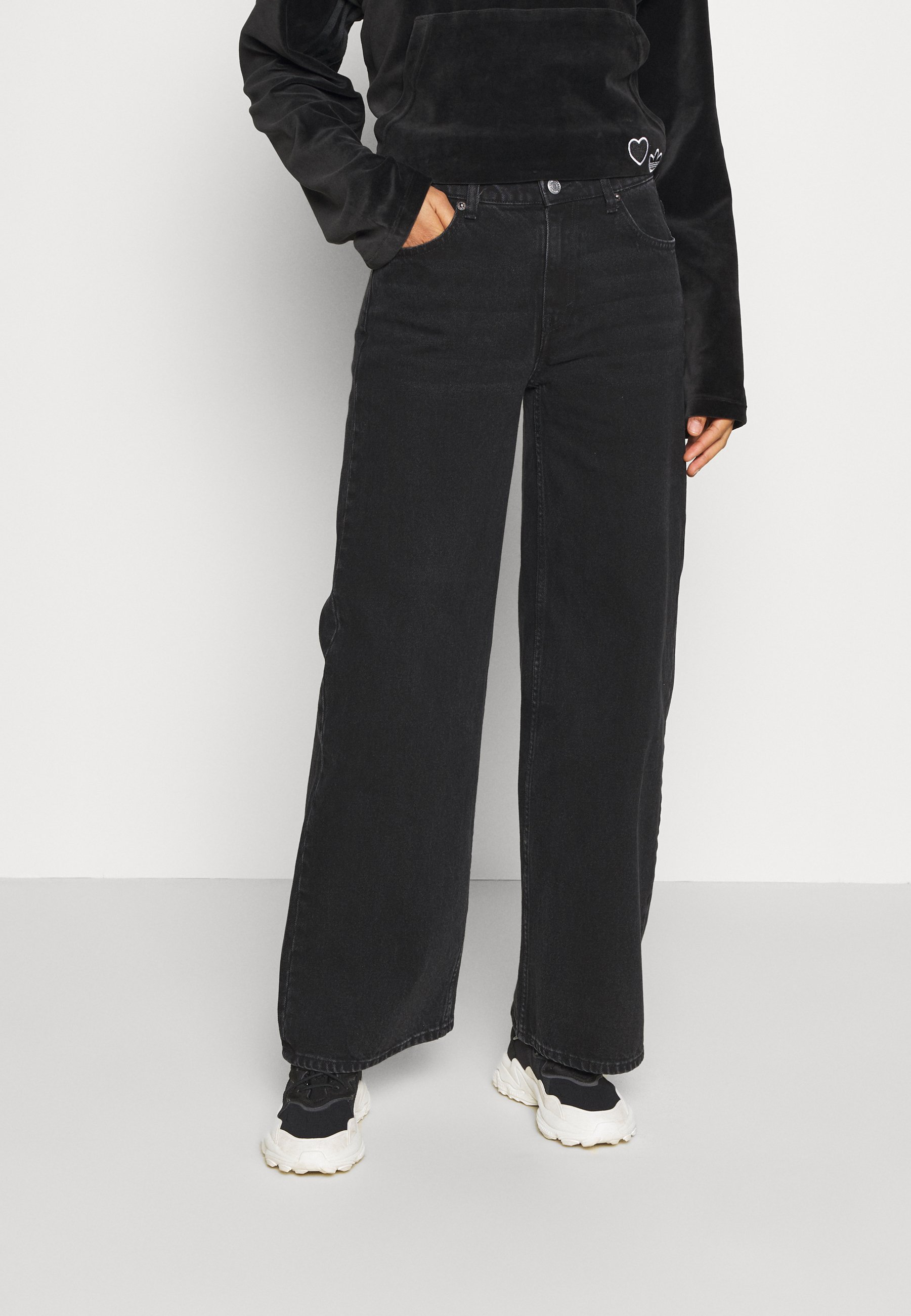 Women RAY LOW - Flared Jeans