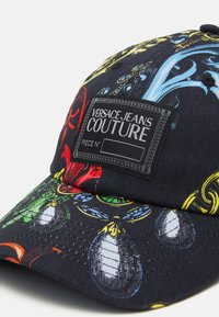 Versace Jeans Couture - BASEBALL WITH CENTRAL SEWING UNISEX - Cap - nero - 3