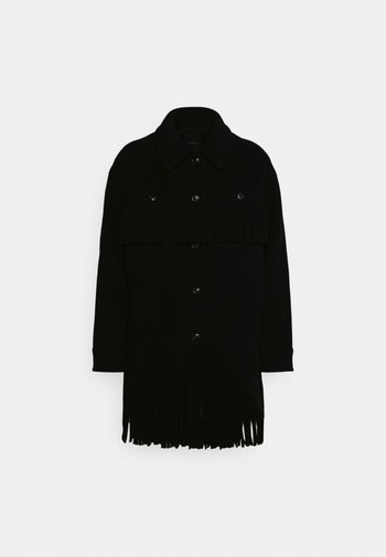 FIAMBALA CAMICIA - Kort kåpe / frakk - black