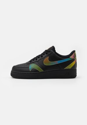 AIR FORCE 1 '07 UNISEX - Trainers - black/multicolor