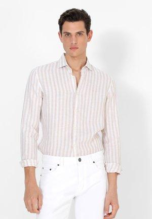 FANCY  - Overhemd - beige stripes