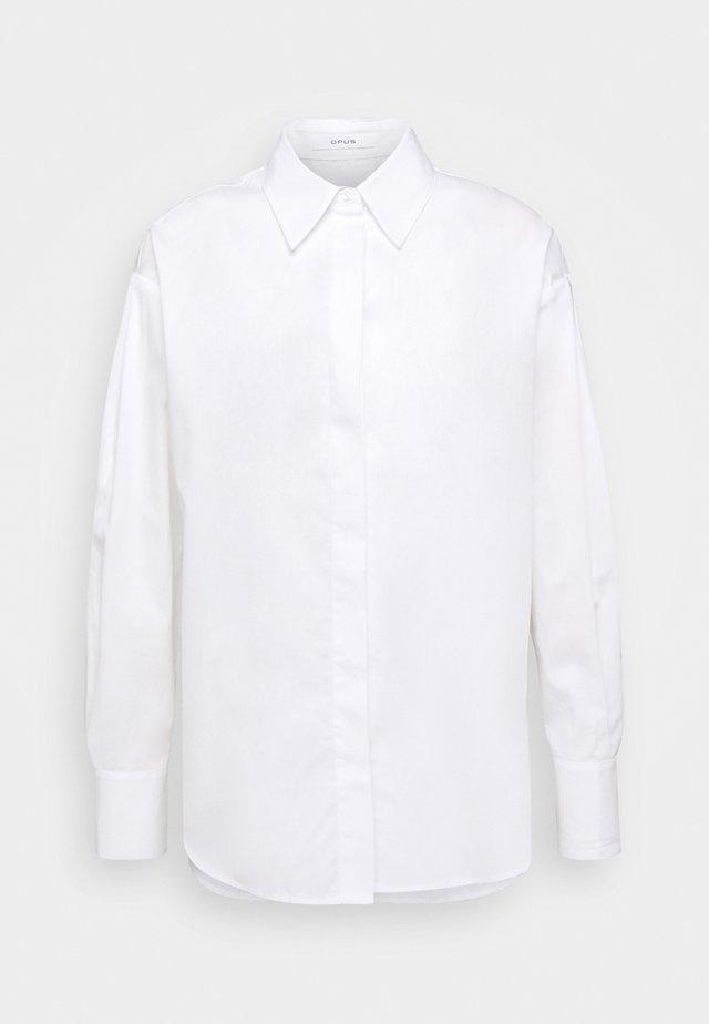 FANTISE - Skjortebluser - white