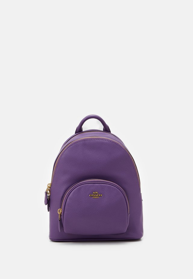 POLISHED PEBBLE CARRIE BACKPACK - Rucksack - bright violet