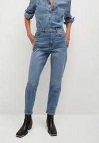 Mango - NEWMOM - Straight leg jeans - bleu moyen - 0