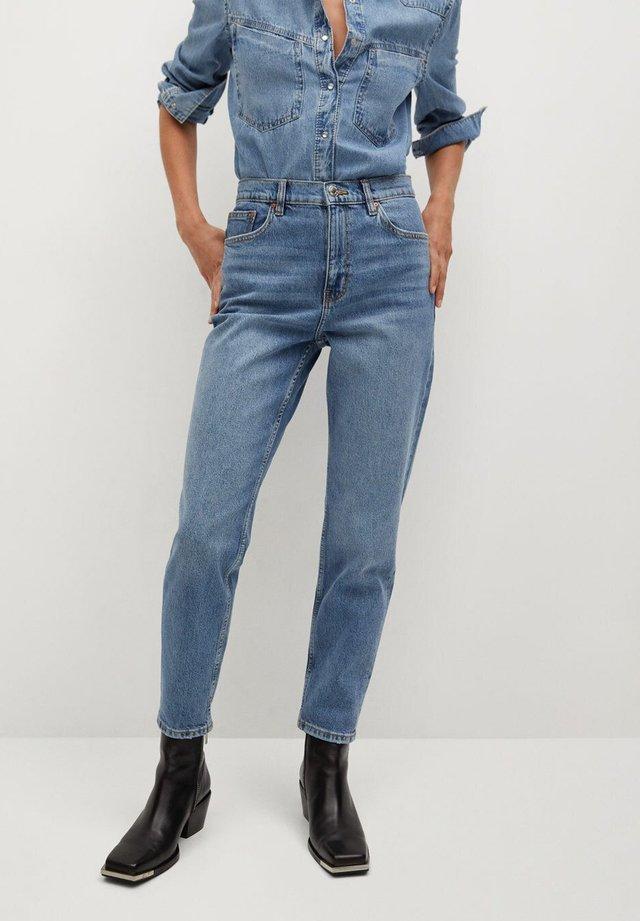 NEWMOM - Jeans a sigaretta - bleu moyen