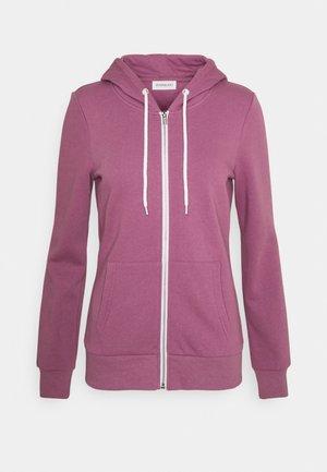 Slim Fit Zip Sweat Jacket - Mikina na zip - purple