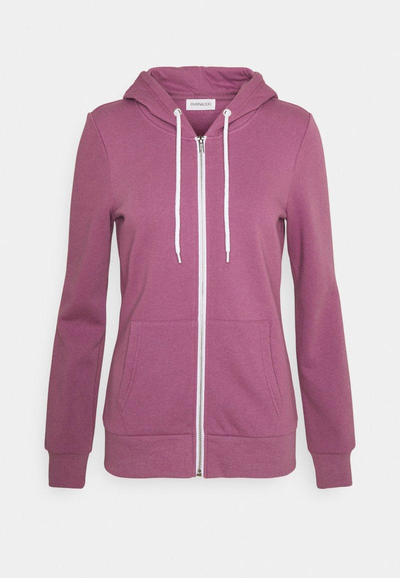 Even&Odd - Slim Fit Zip Sweat Jacket - Zip-up sweatshirt - purple