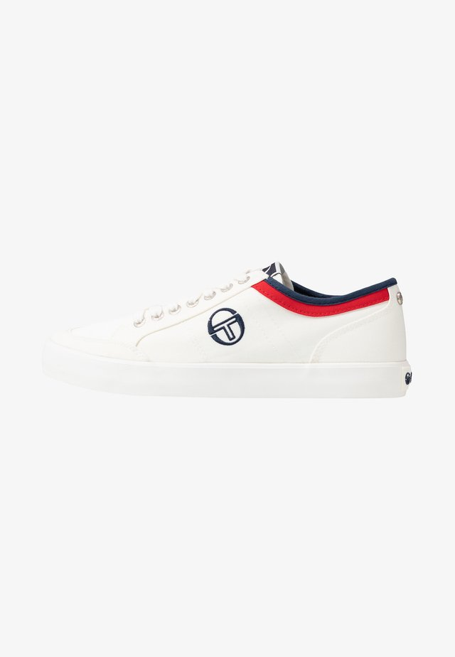 PANAREA - Sneakers laag - white/navy/red
