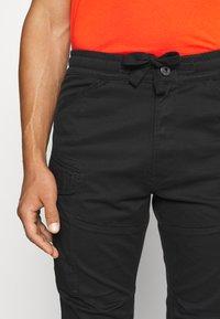 G-Star - ROVIC SLIM TRAINER - Cargo trousers - black - 5
