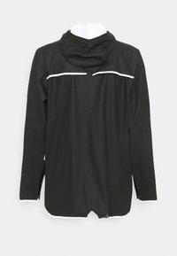 Rains - JACKET UNISEX - Waterproof jacket - black - 1