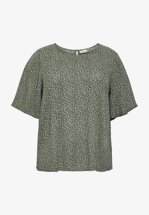 KCLIANA AMI  - Blouse - hedge green petit fleur