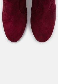 L'Autre Chose - BOOT - Stivali con i tacchi - burgundy - 6