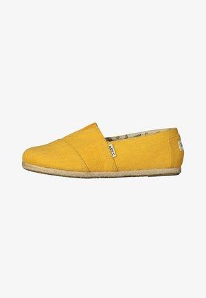 CLASSIC ESSENTIAL SEA - Espadrillot - yellow